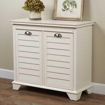 Martel Cabinet Laundry Hamper - Wayfair