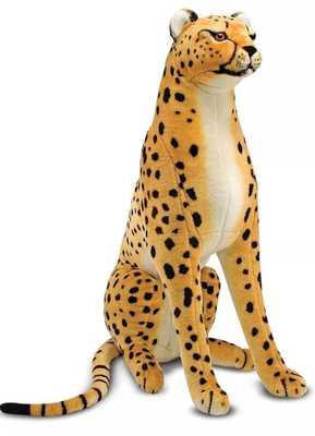 Melissa & Doug Giant Cheetah - Lifelike Stuffed Animal (over 4 feet long) - Target