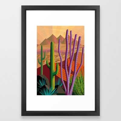 Tucson - Vector Black - Society6
