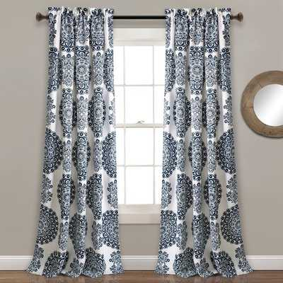 Ryans Floral Room Darkening Thermal Rod Pocket Curtains / Drapes - Birch Lane