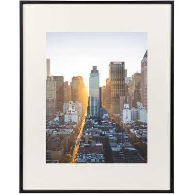 "16"" x 20"" Black Norcross Aluminum Thin-Border Design Picture Frame - Wayfair"