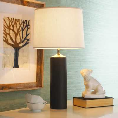 MODERN CYLINDER CERAMIC TABLE LAMP - Shades of Light