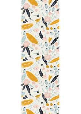 "Hersh Removable Pastel Flower 4.17' L x 25"" W Peel and Stick Wallpaper Roll - Wayfair"