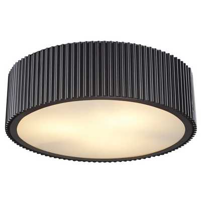 MODERN RIBBED CEILING LIGHT - Shades of Light
