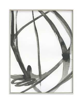 """Plant Cell 4, 18x24"""", champagne silver frame - Minted"""