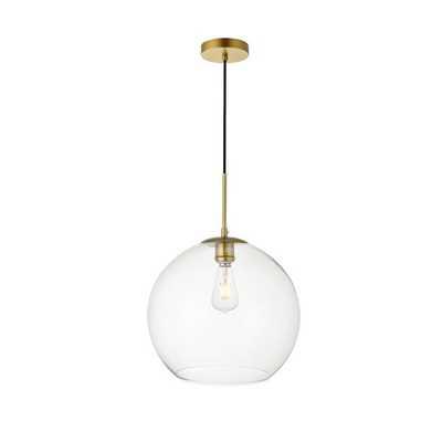 Eller 1-Light Globe Pendant - AllModern