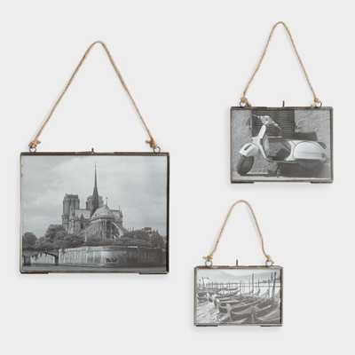 Reese Horizontal Wall Frames: Gray - Metal - 11X14 by World Market 11X14 - World Market/Cost Plus