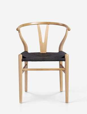 Wishbone Chair - Natural Black Seat Cord - Rove Concepts