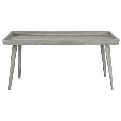 Lyle Coffee Table with Tray Top - Slate Gray - Wayfair