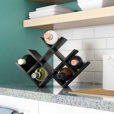 Butterfly 8 Bottle Tabletop Wine Bottle Rack - Wayfair