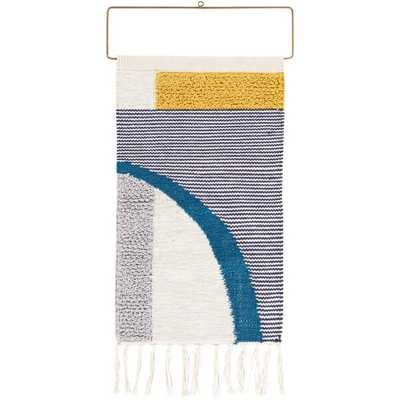 Cotton Matisse Wall Hanging with Rod Included - AllModern