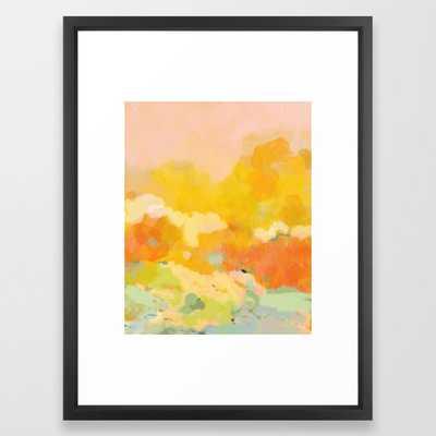 """abstract spring sun - 20"""" x 26"""" - vector black - Society6"""