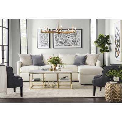 Cailinn Upholstered Reversible Sectional - Wayfair