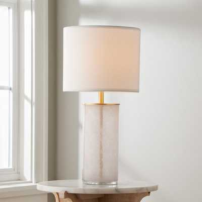 Blush Cylinder Table Lamp - Shades of Light