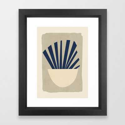 Minimal Abstract Art 9 Framed Art Print - Society6