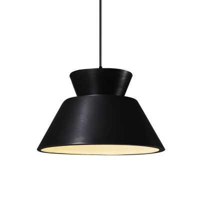 Perth 1 - Light Single Geometric Cone LED Pendant - AllModern