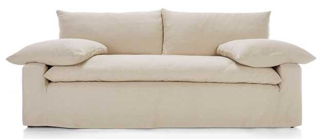 Ever Slipcovered Sofa - Crate and Barrel