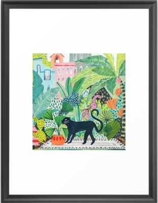 Jungle Panther Framed Art Print - Society6