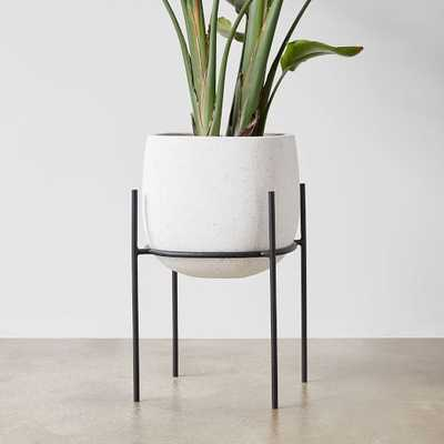 Stratus Standing Planter, Small Tall - West Elm