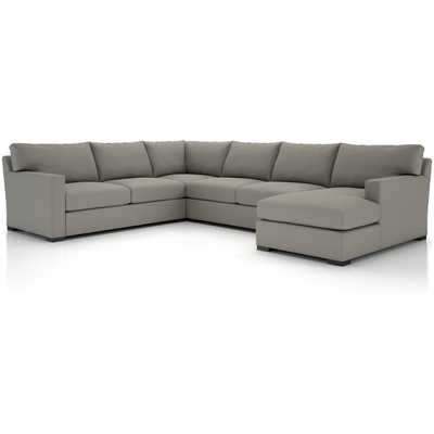Axis II 4-Piece Sectional Sofa - Crate and Barrel