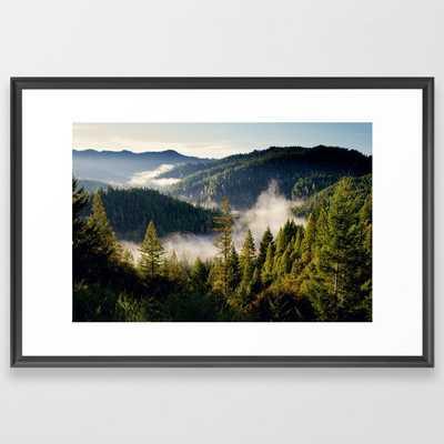 Adventures Framed Art Print - Society6
