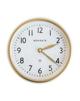 NORFOLK LINEN WHITE WALL CLOCK - McGee & Co.