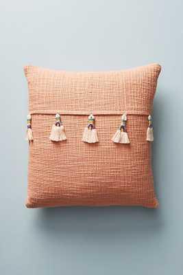 Varied Tassel Pillow - Anthropologie