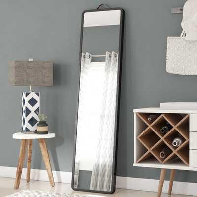 Modern Floor Leaning Full Length Mirror - Wayfair