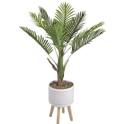 Areca Palm Tree in Planter - Wayfair