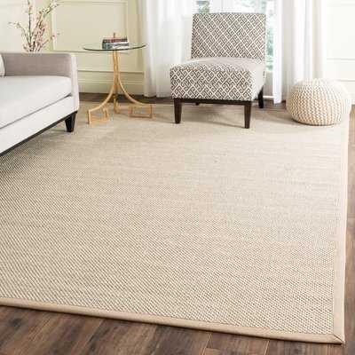 Monadnock Marble / Linen Area Rug, 10'x14' - Wayfair