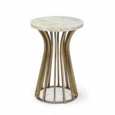 SEAVER SIDE TABLE - Curated Kravet