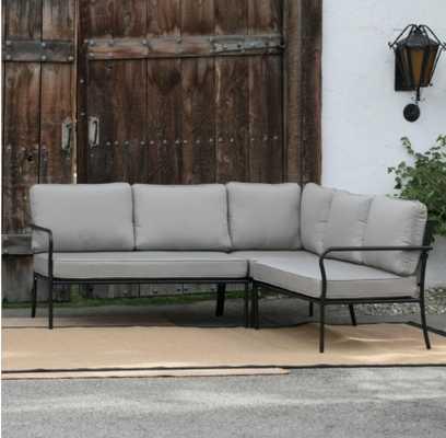 Belham Living Parkville Metal Sofa Sectional Set - Hayneedle