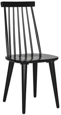 BURRIS 17''H SPINDLE SIDE CHAIR Set of 2 - Arlo Home