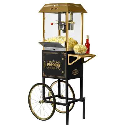 Nostalgia 10-Ounce Professional Popcorn Machine with Cart - Wayfair