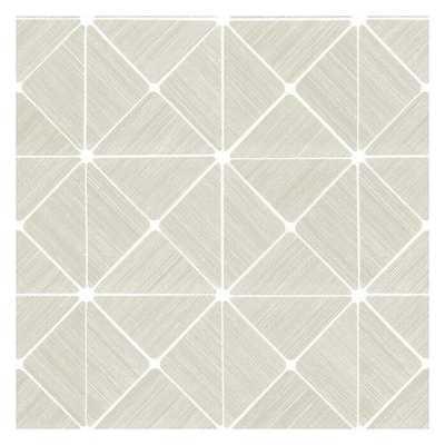 Double Diamonds Premium Peel and Stick Wallpaper - York Wallcoverings