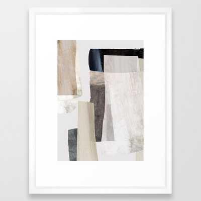 Clay Framed Art Print - Society6
