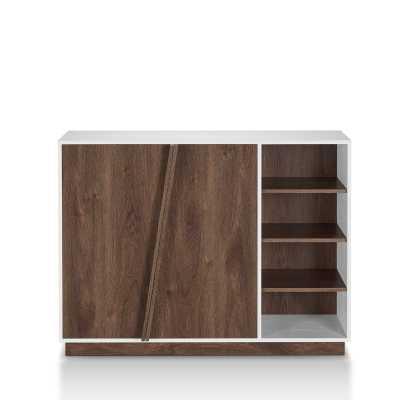 16 Pair Shoe Storage Cabinet - Wayfair