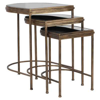 INDIA NESTING TABLES, S/3 - Hudsonhill Foundry