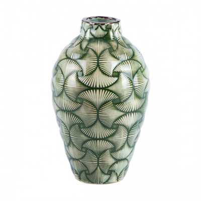Ventra Small Vase Green - Zuri Studios