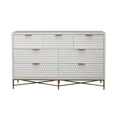 Francesca 7 Drawer Double Dresser - Wayfair