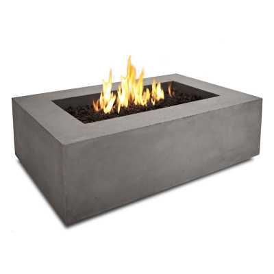 Baltic Concrete Natural Gas Fire Pit Table - Wayfair