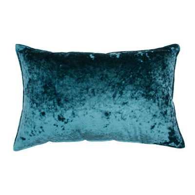 Ibenz Ice Velvet Lumbar Throw Pillow - Décor Therapy - Target