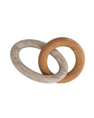 Duo Marble Stone Links - McGee & Co.