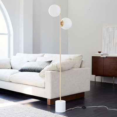 Sphere + Stem Floor Lamp - West Elm