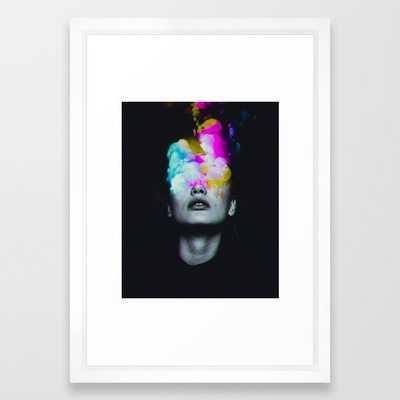 Lucide Framed Art Print - Society6