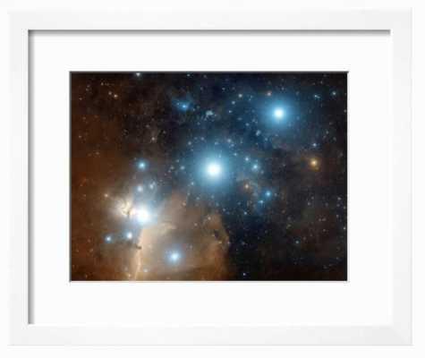 """Orion's Belt 16"""" x 12"""" Soho White Frame - art.com"""