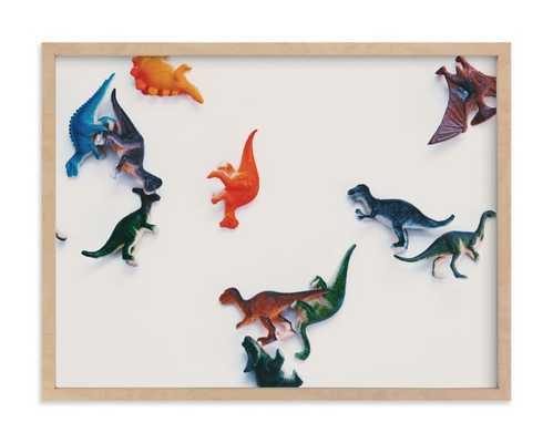 "Dinosaurs Wall Art / 24"" x 18"" - Minted"