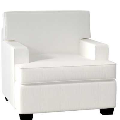 Clarkedale Armchair, Classic Bleach White - Wayfair