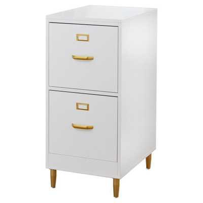 Carson Carrington Erfjord 2-drawer File Cabinet - White - Overstock