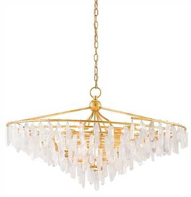 TEMPEST CHANDELIER - Currey and Company